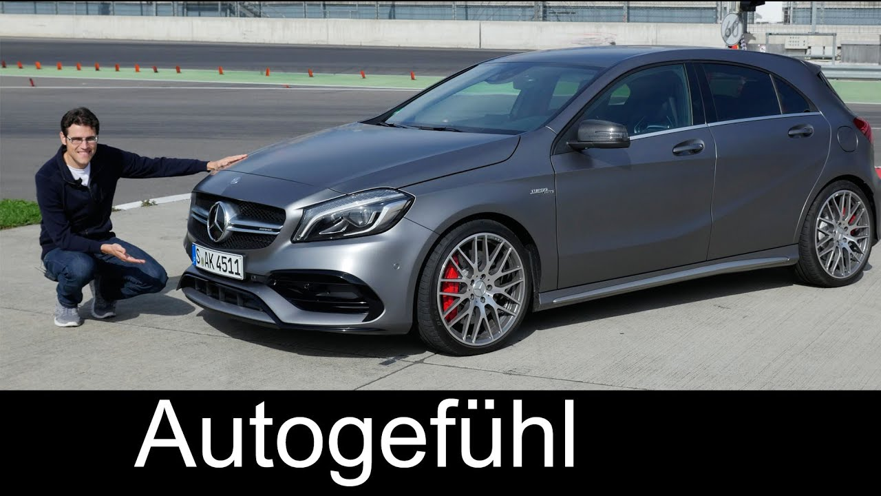 mercedes amg a45 full review test driven a class a klasse facelift a200d a250 sport all new. Black Bedroom Furniture Sets. Home Design Ideas