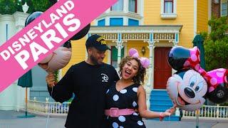 WE WENT TO DISNEYLAND PARIS - disneyland paris couple vlog - COLORMECOURTNEY