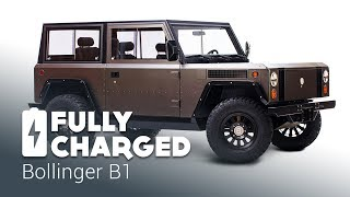 Bollinger B1 100% electric sport utility truck | Fully Charged