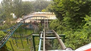 Random Crappy Chinese Jungle Mouse Roller Coaster POV Guangzhou Zoological Garden