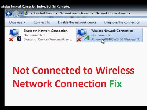 Wireless Network Connection Enabled but Not connected Fix Windows 7 on network settings windows 7, network connections windows server 2003, network properties windows 7, network diagnostics windows 7, network connections facebook, local area network windows 7, network type windows 7, network connections in xp, network adapter for windows 7, unidentified network windows 7, home network windows 7, wireless network windows 7, network sharing center windows 8, my network places windows 7,