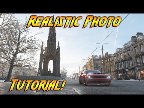How To Take High Quality Photos In Forza Horizon 4! Realistic Photo Tutorial!