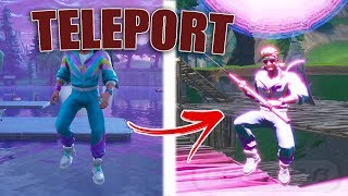 *NEW* Teleport Glitch In Fortnite | Teleport Anywhere From Under Loot Lake | Under Map Glitch