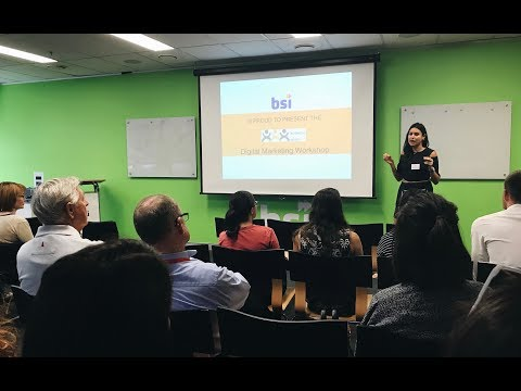 Digital Marketing Workshop - January 2018