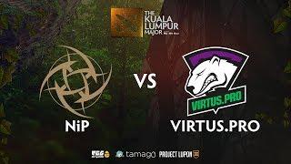 Virtus.Pro vs Ninja In Pyjamas Game 2 (BO3) The Kuala Lumpur Major