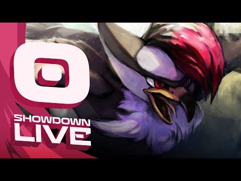 """POWERFUL STARAPTOR"" Pokemon Ultra Sun & Moon! OU Showdown Live w/PokeaimMD"