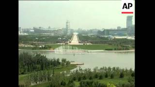 China - Space / Olympics - Smog
