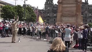 #Change the Tune - Flashmob in George Square, Glasgow