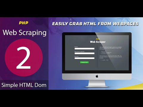 Tutorial 2-  Simple HTLM Dom Web Scraping Data PHP Example Practice