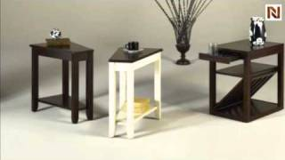 Chairside Table (expresso) T00281-00 By Hammary Furniture