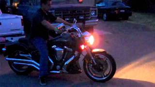 Richard Whitescarver rides Yamaha Warrior 1700cc. pt.1