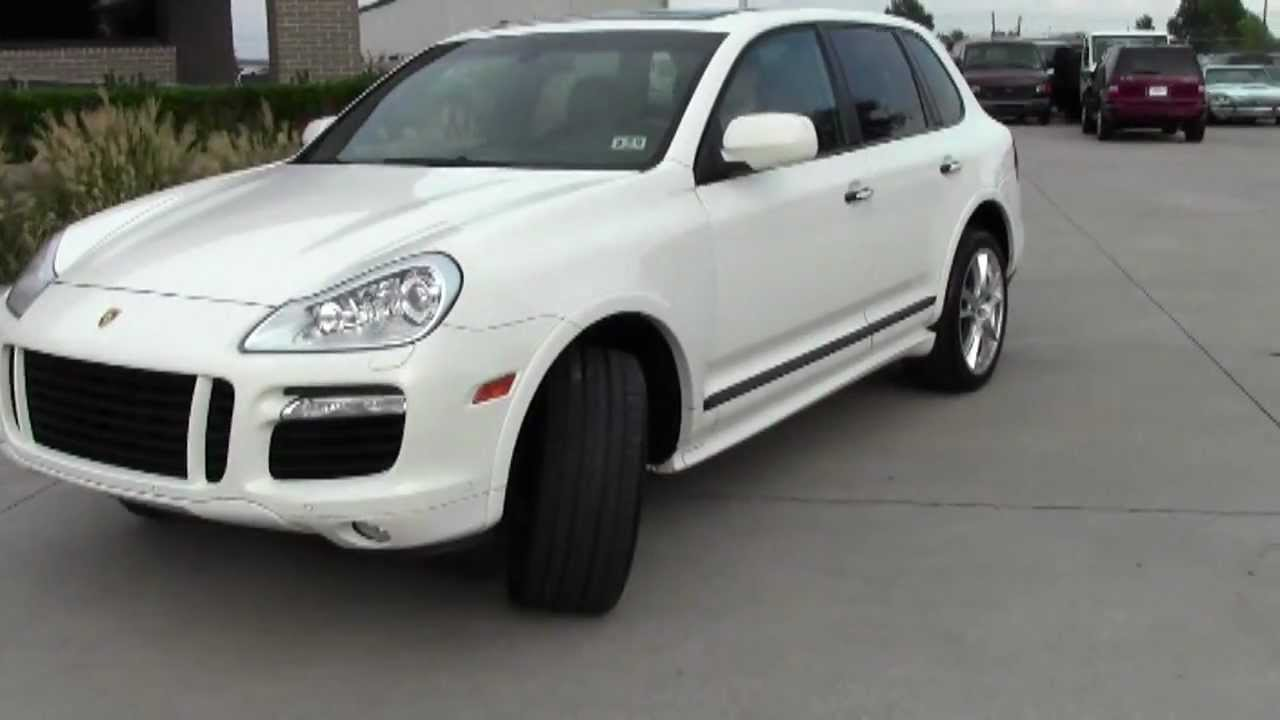 2008 porsche cayenne turbo used cars plano youtube. Black Bedroom Furniture Sets. Home Design Ideas