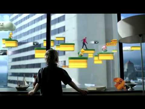 Super Mario 3D Land TV Commercial