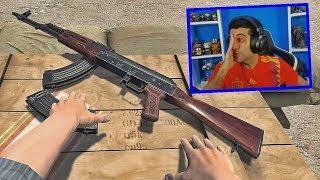 É A AK47 MALUCA - HAND SIMULATOR