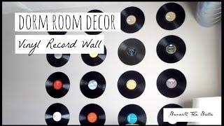 Dorm Room Decor: DIY Vinyl Record Wall Thumbnail