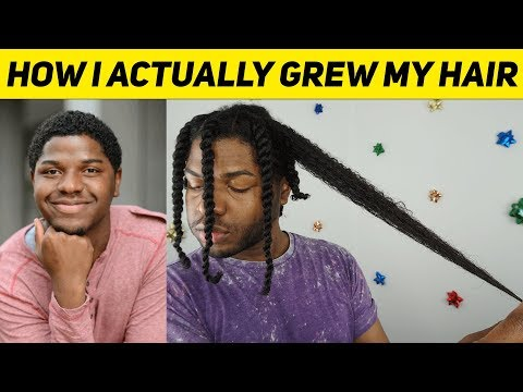 This is how I ACTUALLY grew my hair fast...