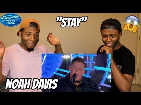 "Noah Davis Plays Piano to Rihanna's ""Stay"" for His Idol Audition - American Idol 2018  (REACTION)"