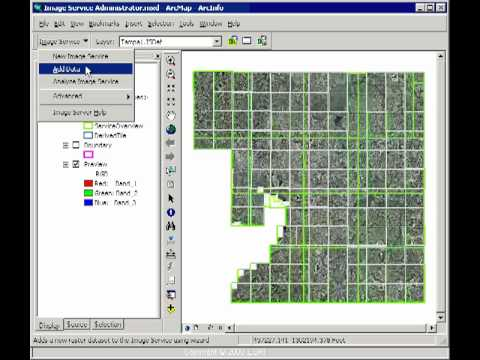 Imagery in an Enterprise GIS