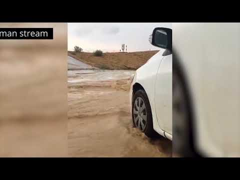 Flash floods in Israel