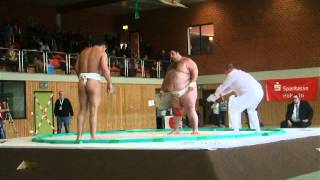 European Sumo Championships 2013 in Ponitz ..