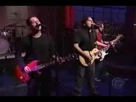 Jimmy Eat World - Bleed American on Letterman