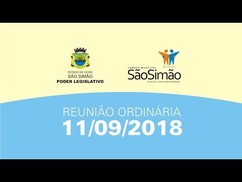 REUNIAO ORDINARIA 11/09/2018