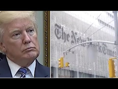 """HUMILIATED!  RIGHT AFTER THE NYT'S LATEST GOV  REPORT """"LEAK"""" , THEY IMMEDIATELY GOT CRUSHED BY KARMA"""