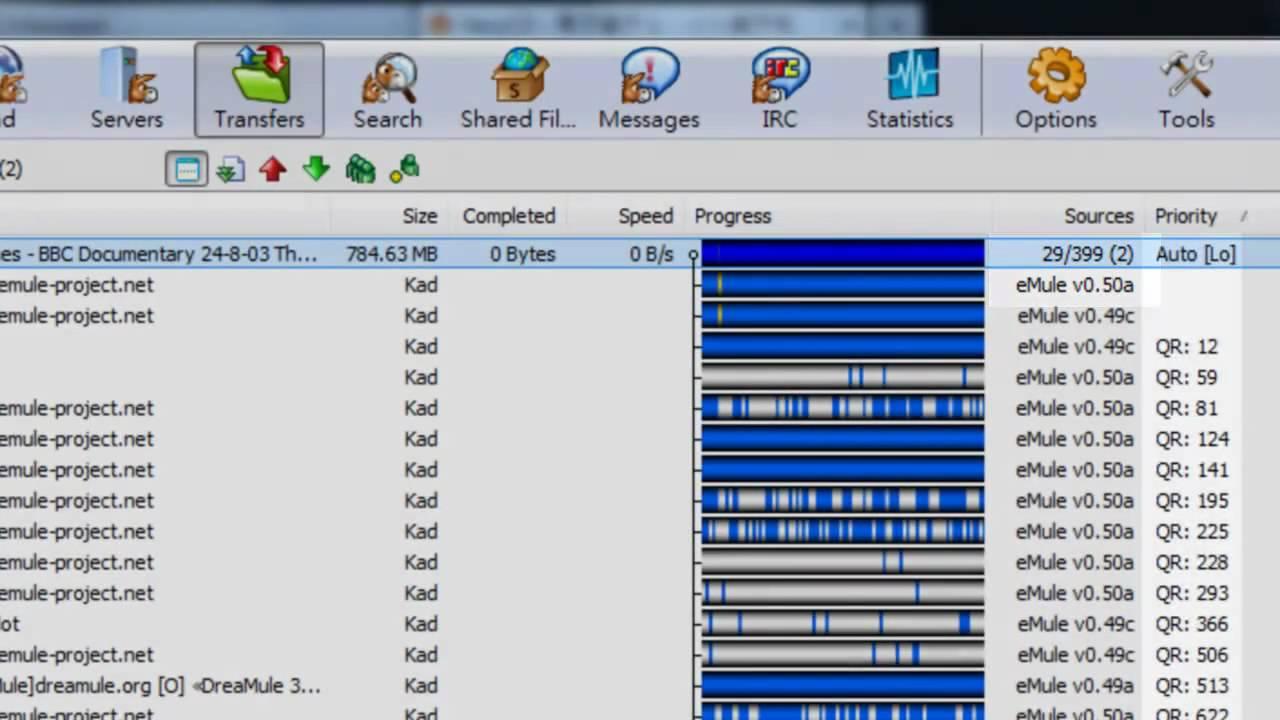 Emule (file sharing program) tutorial