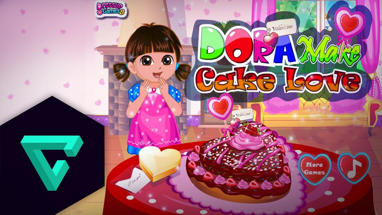 Dora the Explorer Episodes For Children Dora Make Cake Love YouTube
