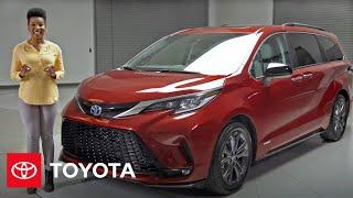 homepage tile video photo for 2021 Sienna XSE Walk-Around | Toyota