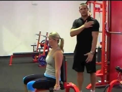 Seated DB Side Lateral Raise - In the Gym
