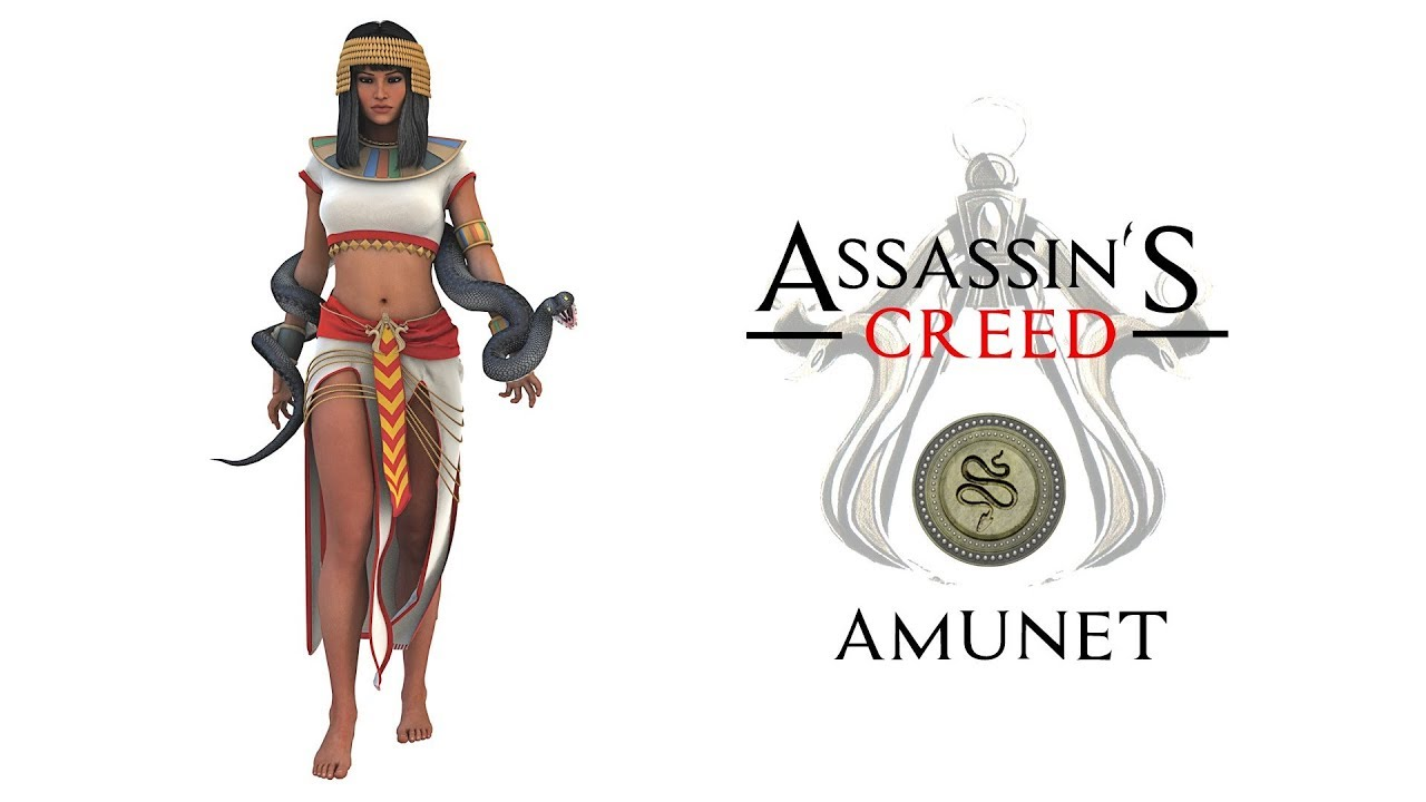 Assassin S Creed Origins Julio Cesar Cleopatra Amunet Brutus