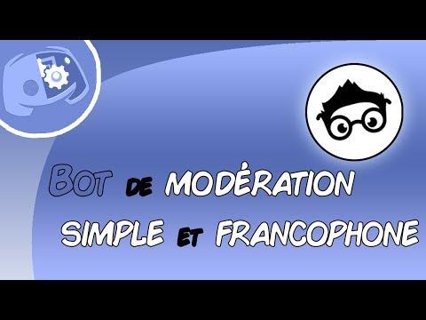 Bot Discord Moderation Fr