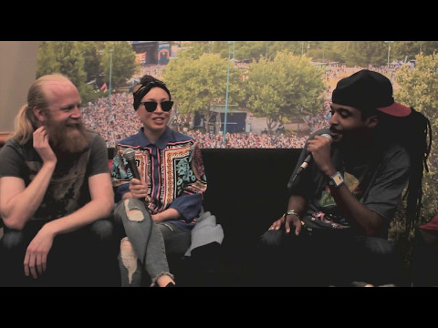 Moran Tha Man Interviews Little Dragon At #ShakyBeats