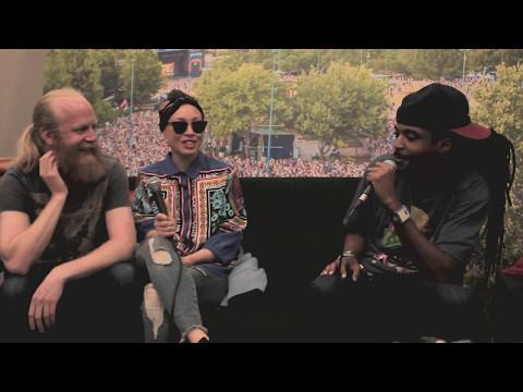 Moran Tha Man Interviews Little Dragon At #ShakyBeats