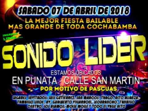 SONIDO LIDER PUNATA ABRIL 2018