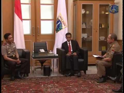 05 November 2012 Gubernur DKI Jakarta Menerima Kapolda Metro Jaya  di Ruang Tamu