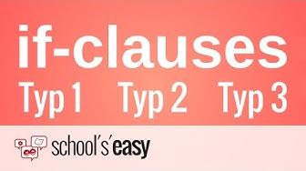 if-clauses - Wie werden sie gebildet?