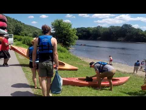 Adventure Sports - Kayaking, Canoeing And Rafting On The Delaware River