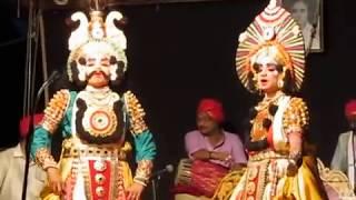 Yakshagana - Abhimanyu - Saligrama mela - Hosangadi , Chandrahas , Harish