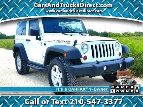 2012 Jeep Wrangler Rubicon 2 Door Review