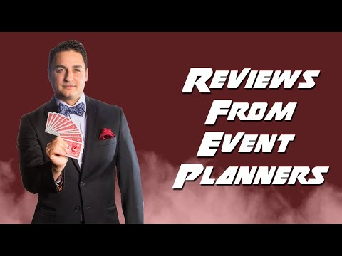 What are Event Planners Saying? | David Ranalli Video Reviews