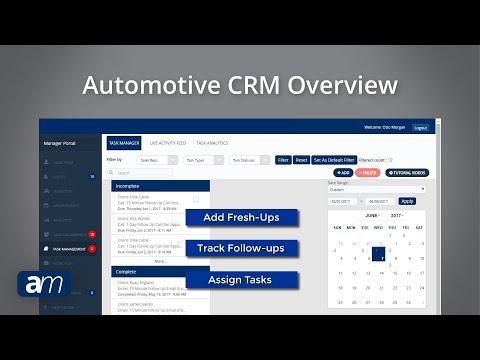 Automanagers Automotive Crm Overview