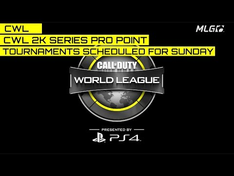 Three CWL 2000 Series Pro Point Events Scheduled January 8, 2017!