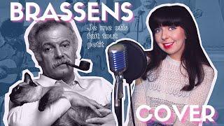 George Brassens 🎸 ll Je me suis fait tout petit ll COVER ✨