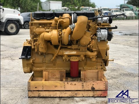 caterpillar c15 engine for sale twin turbo serial mxs81323 ca truck parts youtube. Black Bedroom Furniture Sets. Home Design Ideas