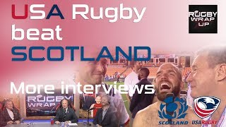 More From USA Rugby vs Scotland. Player Interviews, Fan Reactions /| RUGBY WRAP UP