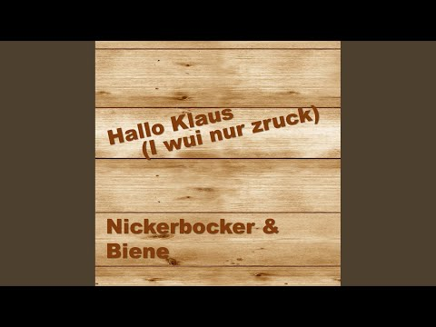 Hallo Klaus (I wui nur zruck)