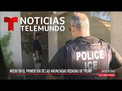 EN VIVO: Informe especial sobre las redadas que empezarían hoy, según informó el presidente Trump