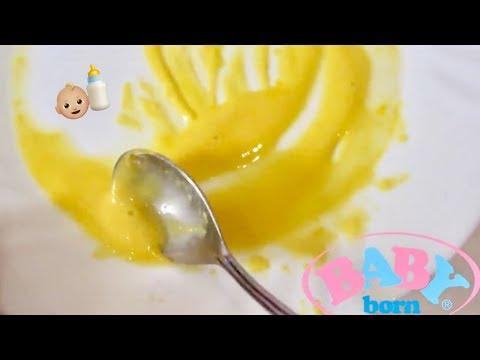 Как приготовить кашу для кукол Baby Born и реборн / Baby Food
